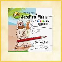 Op weg met Jozef en Maria (Kleurboek)