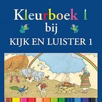 Kleurboek Kijk en Luister 1