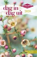 Dag in dag uit 2020 GROTE LETTER (Boek)