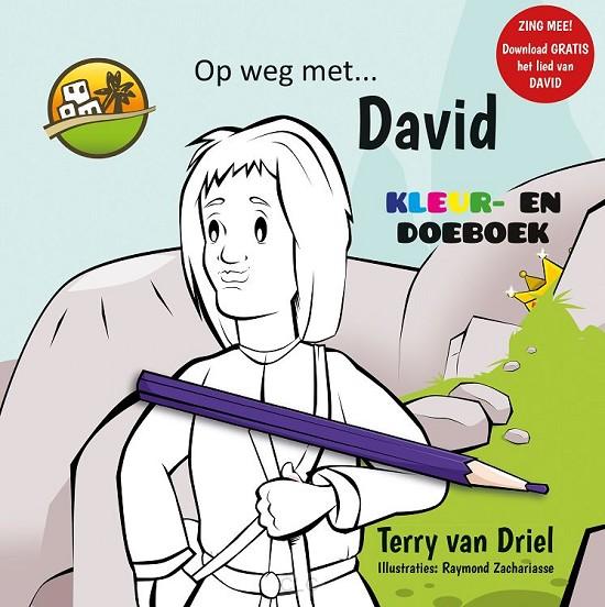 Op weg met David (Kleurboek)
