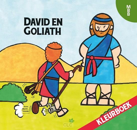 David en goliath kleurboek
