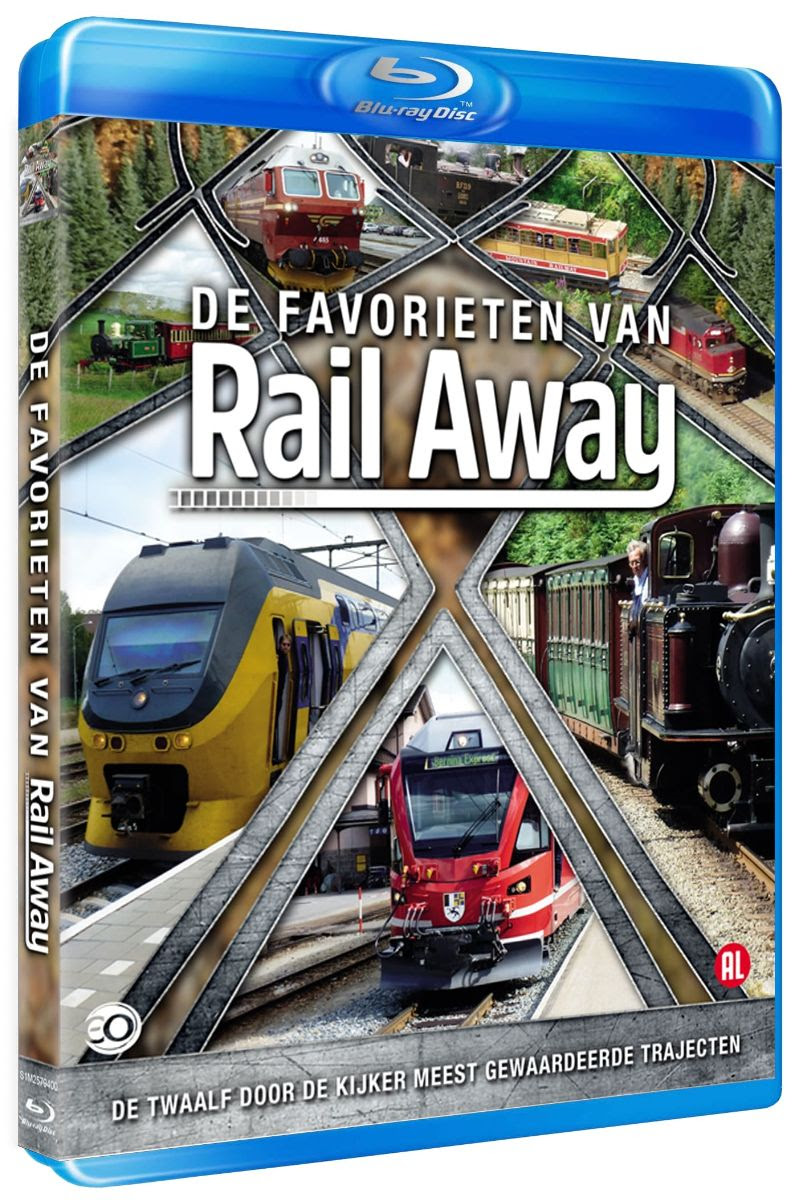 De Favorieten van Rail Away (Bluray)