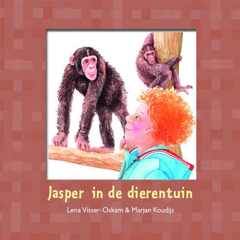 Jasper in de dierentuin