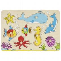 Inlegpuzzel: Onderwaterwereld - 8 st