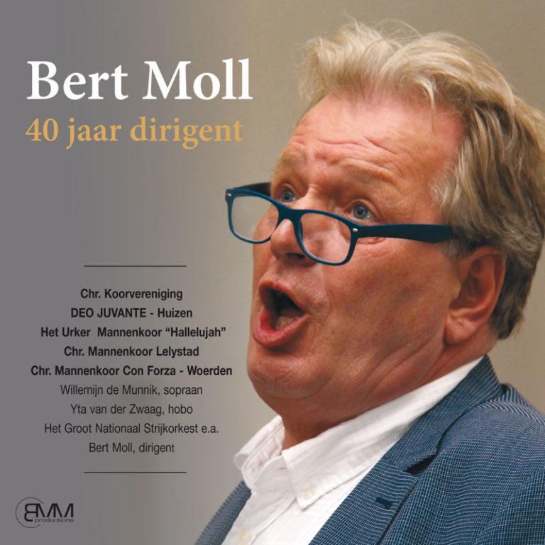 Bert Moll, 40 jaar dirigent