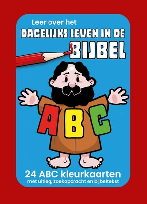 Dagelijks leven ABC kleurkaarten