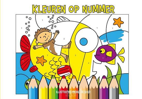 Kleuren op nummers
