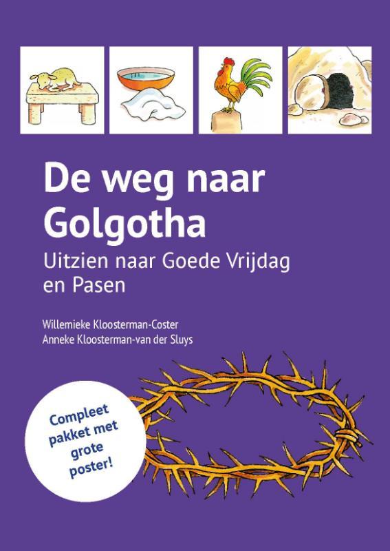 De weg naar Golgotha - posterpakket