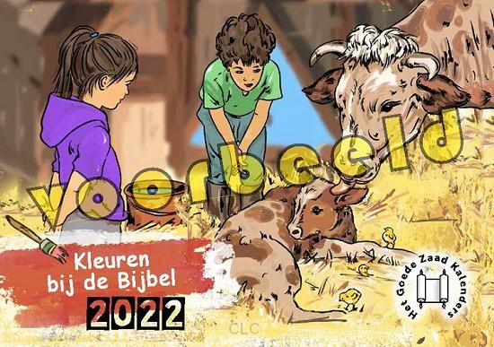 Kleuren bij de Bijbel (Kinderkalender 2022)