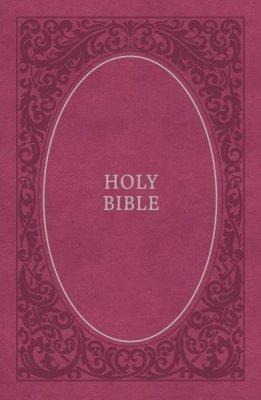 NKJV soft touch bible pink imitation leather