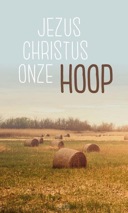 Jezus Christus onze hoop