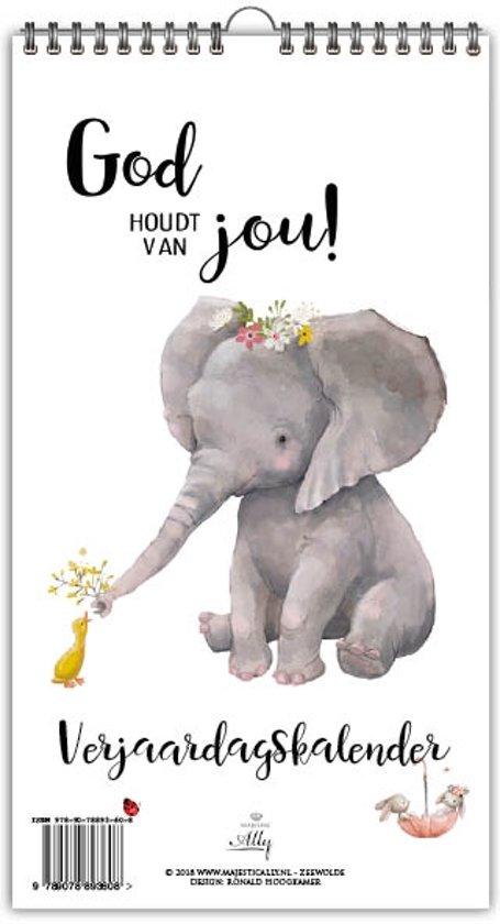 God houdt van jou! Verjaardagskalender